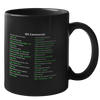 Git Commands Mug (Dark Mode)
