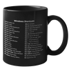 Windows Shortcuts Mug (Dark Edition)