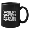World's Okayest Software Developer Mug
