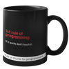 Rule of Thumb for Programmers Mug