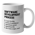Software Development Process Mug