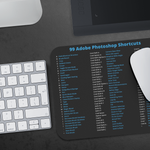 Adobe Photoshop 99 Shortcuts Mousepad For macOS