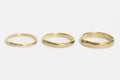 Classic band - 4mm - gold
