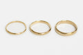 Classic band - 3mm - gold