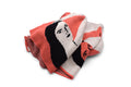 Lounging Girls Blanket - Coral & Cream