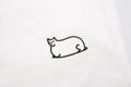 Fat Cat Embroidered T-shirt