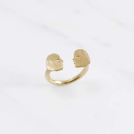 Conversation ring - brass