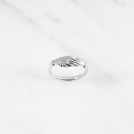 Fede ring - silver