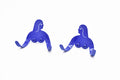Female Support System - Twins - Yves Klein Blue