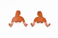 Female Support System - Twins - Terracotta
