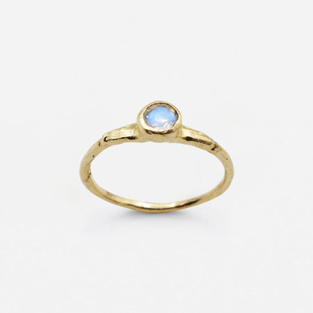 Eos ring - 14k gold with moonstone
