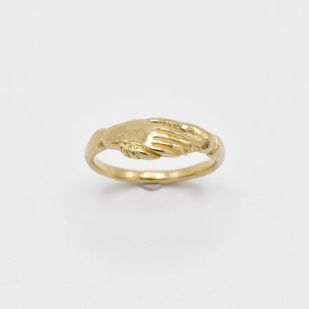 Fede ring - 14k gold