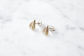 Tiny fly studs - brass