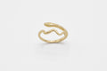 Little Snake ring - 10k gold