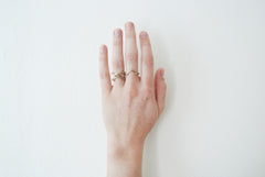 Arch ring - brass