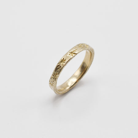 Posey ring - gold - READY TO SHIP