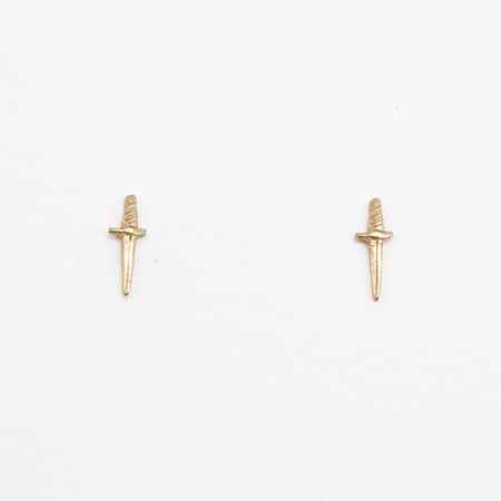 Little Dagger Earrings - 14k Gold - READY TO SHIP