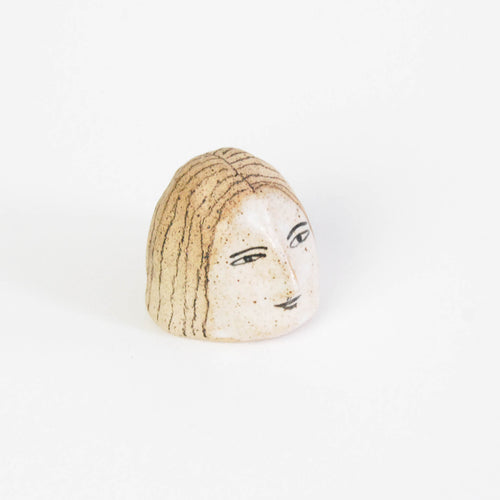 Ceramic Lady's Head