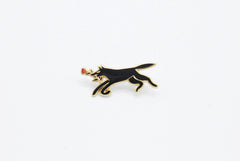 Black Dog Pin