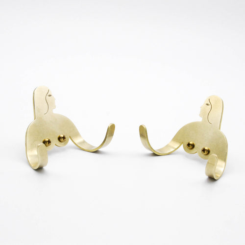 Female Support System - Brass Hook - Twins