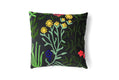 Millefleur Embroidered Pillow Case - Multicolor