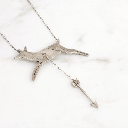 Hart & Hunt necklace - silver