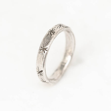 Posey ring - silver