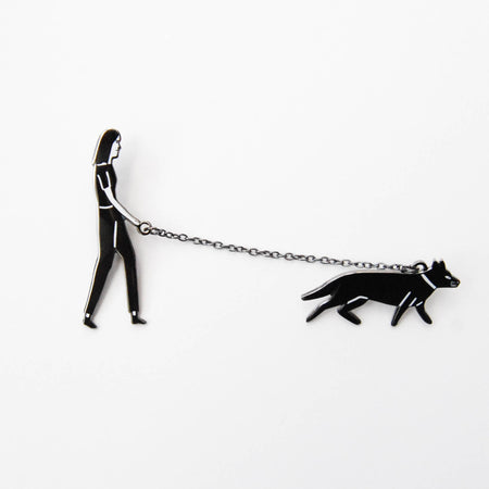Walking the Dog Pin
