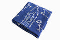 Flash Embroidered Bedspread - Indigo