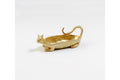 Brass Miniature Cat Dish