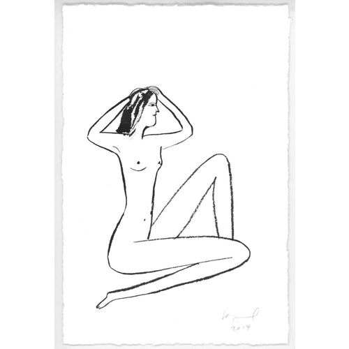 Original Nude Drawing