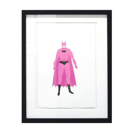 Pink Batman - Original Drawing