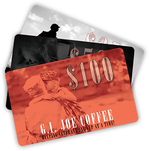 G.I. Joe Coffee Gift Cards