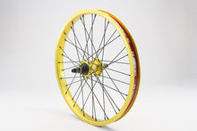 Load image into Gallery viewer, eastern bikes buzzip rear wheel professional bmx wheel gold anodized