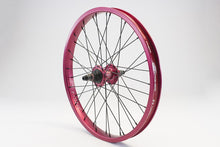 Load image into Gallery viewer, eastern bikes buzzip rear wheel professional bmx wheel red anodized