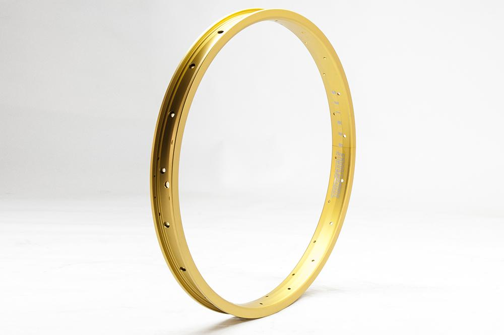 eastern bikes throttle double wall pinned rims 36h gold