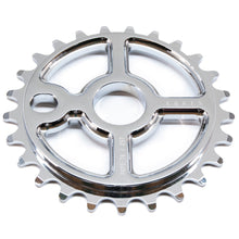 Load image into Gallery viewer, Ezra equis bmx sprocket 7075 alloy 25t chrome