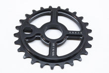 Load image into Gallery viewer, Ezra equis bmx sprocket 7075 alloy 25t black