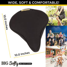 Load image into Gallery viewer, eastern bikes beach cruiser gel seat cover for added comfort