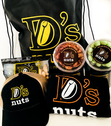 D's Nuts Holiday Gift Sack