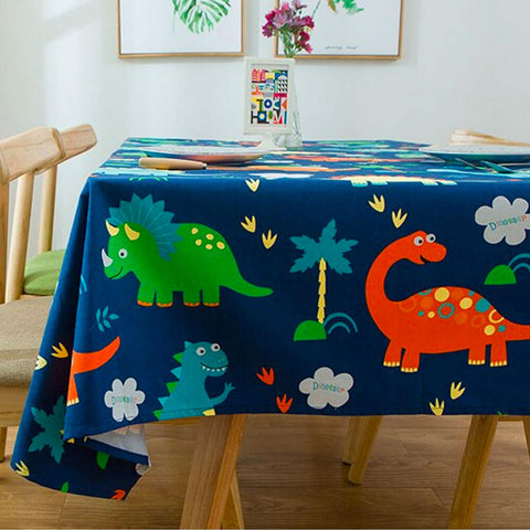nappe de table dinosaure