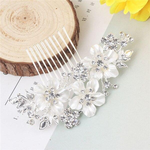 Wedding decorations pearl flowers hair accessories