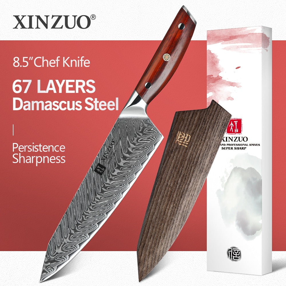 XINZUO 8.5 INCHES CHEF KNIFE