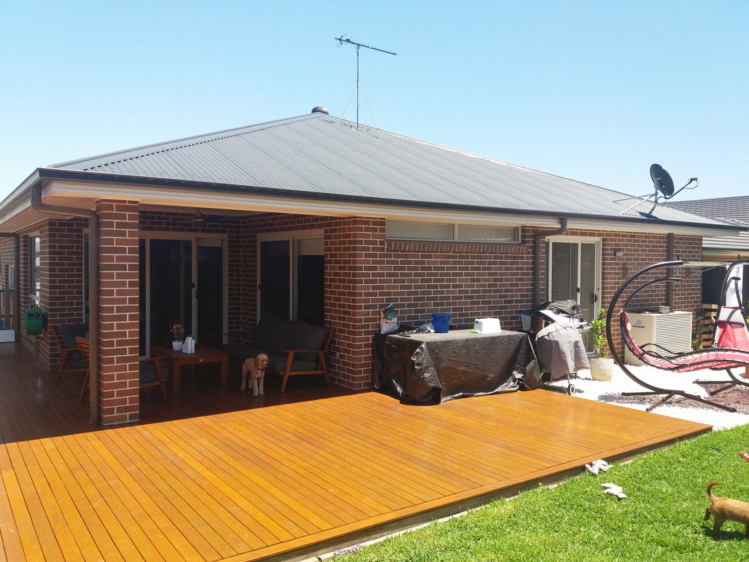 Low-Set Deck - 13m x 5m- from $21,530.00 Inc GST.