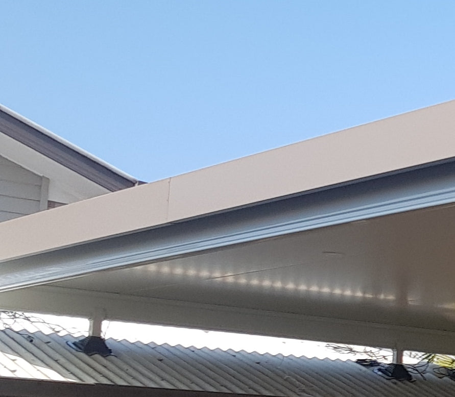 Insulated Flyover - 15m x 7m- $31,200.00 Inc GST.