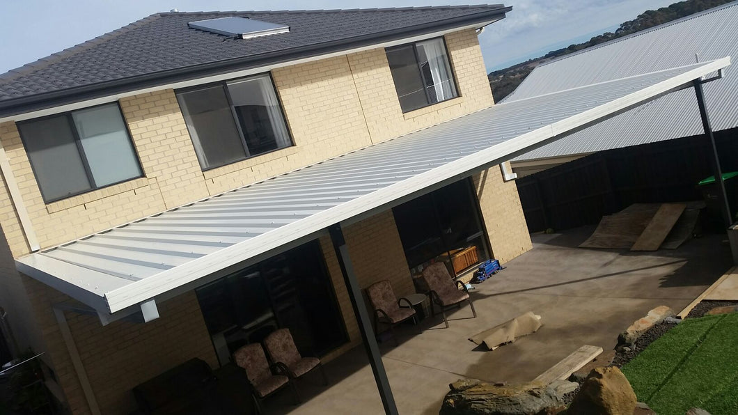 NON-INSULATED Skillion Patio - 9m x 5m- from $8,430.00 Inc GST.
