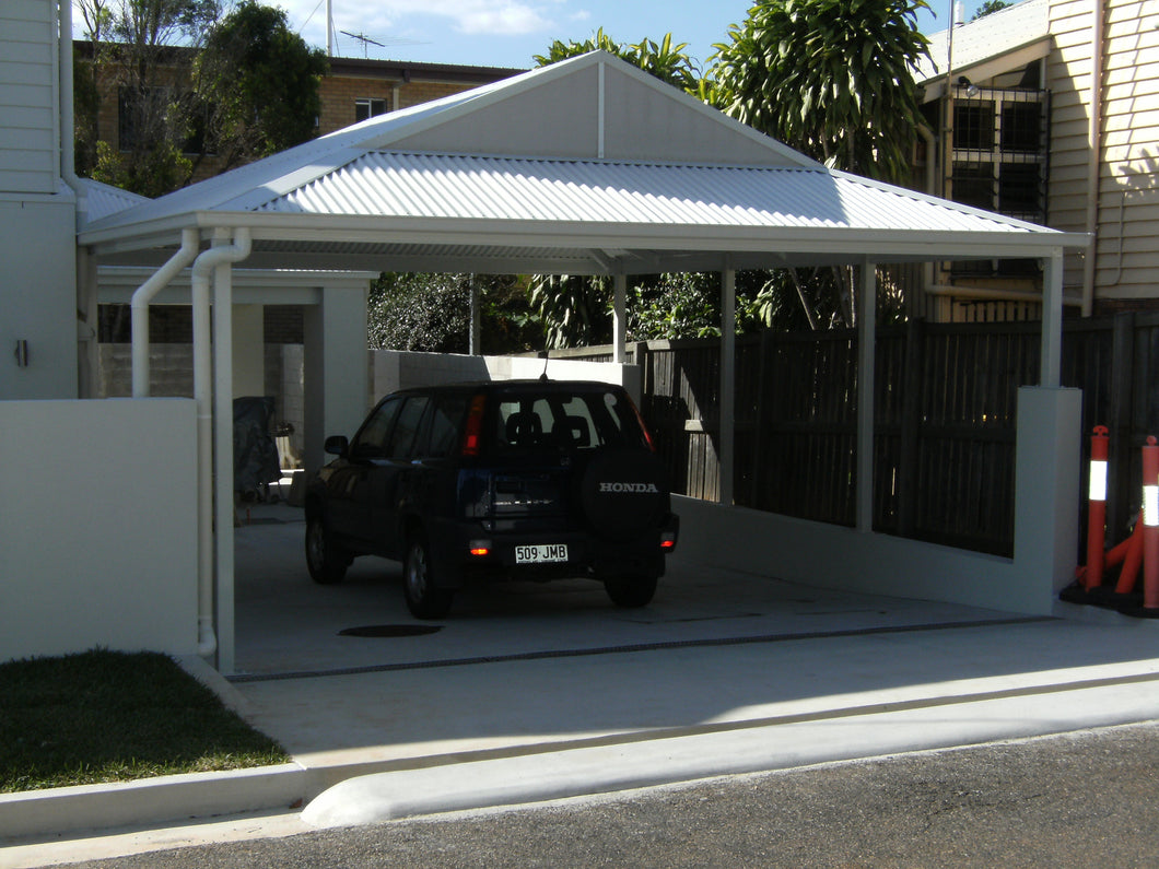 Dutch Gable Carport - 6m x 4m- $7,525.00 Inc GST.