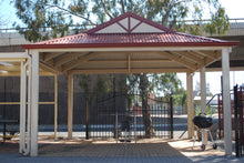 Load image into Gallery viewer, Dutch Gable Carport - 6m x 4m- $9,030.00 Inc GST.
