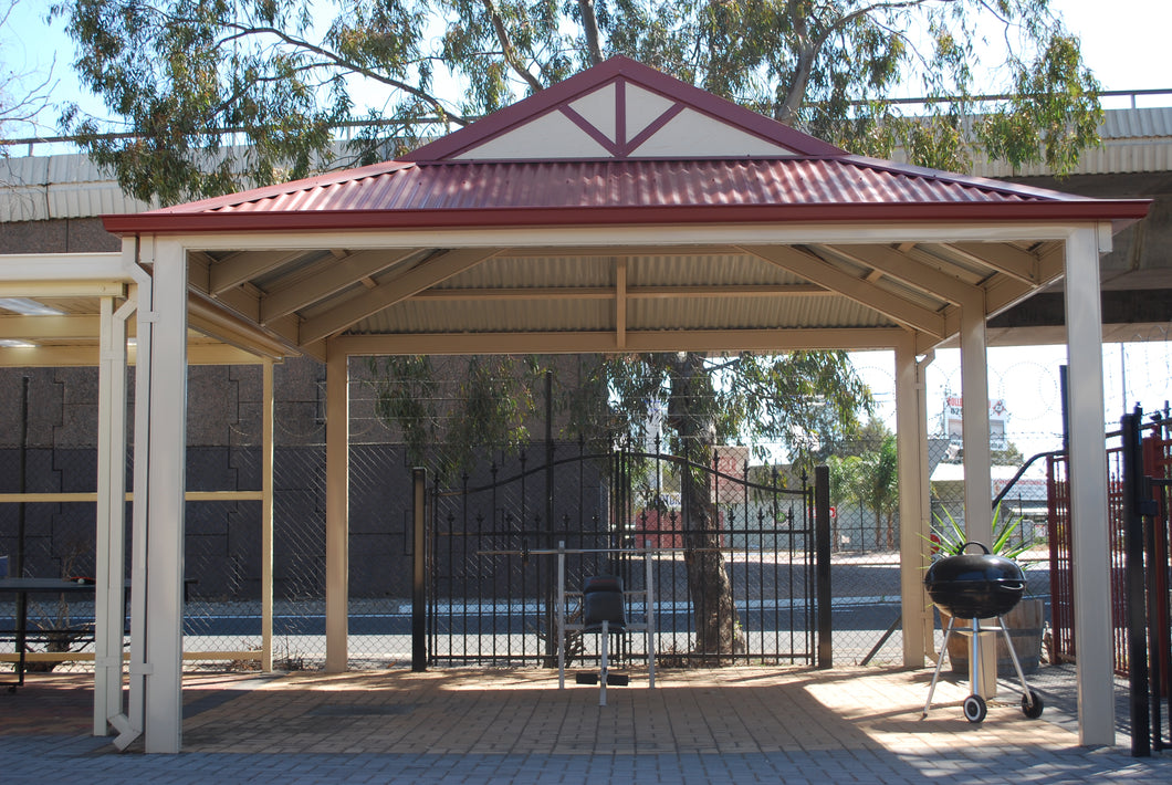 Dutch Gable Carport - 7m x 6m- $10,900.50 Inc GST.