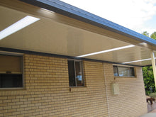 Load image into Gallery viewer, INSULATED Skillion Patio - 7m x 6m -from $13,512.00 Inc GST.